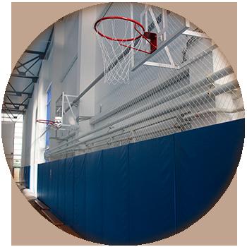 Комплексная защита спортивных залов